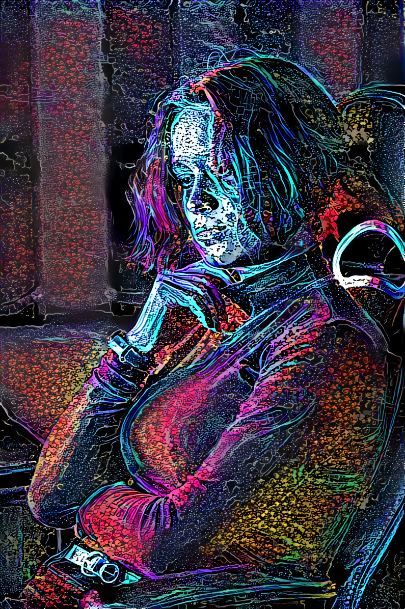 Original by Visuals of Theodor on Unsplash, Style created using flame painter 4 and photoshop | Deep Dream Generator